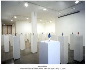 Karin Sander's exhibit at Galerie Helga de Alvear